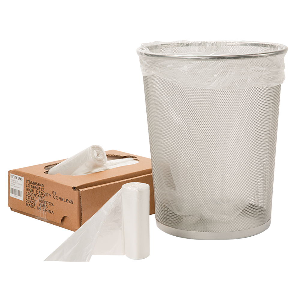 7-10 Gal High Density Liner – Microns Clear
