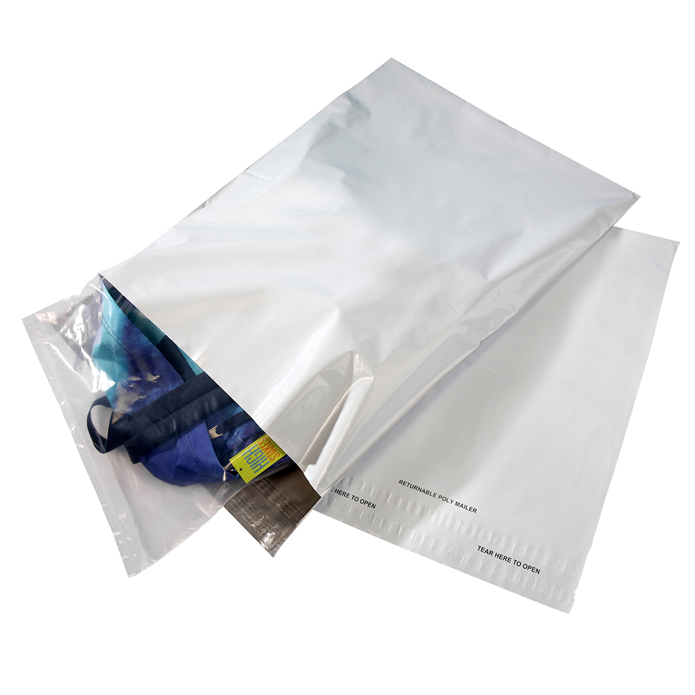 Large Returnable Poly Mailer